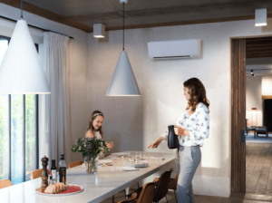 condizionatore aria Daikin in casa