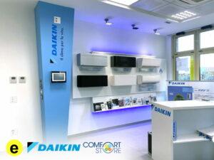 Elettrositemi showroom Daikin Comfort Store