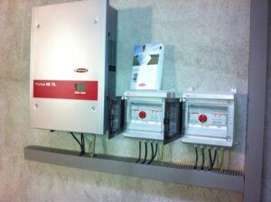 Trifase inverter per Impianti fotovoltaici Elettrosistemi