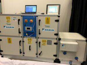 vmc unità trattamento aria Daikin collaudo
