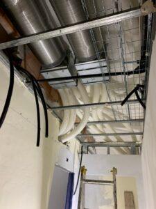impianto di trattamento aria bianca vmc