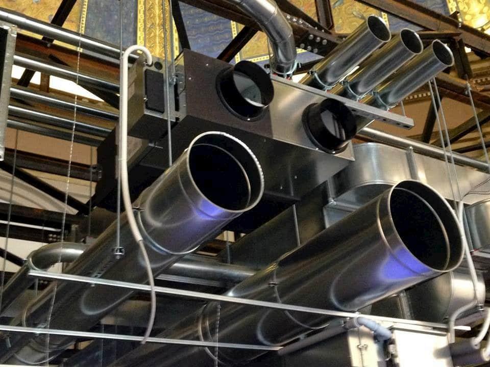 condotte aria impianto vmc
