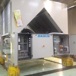 Pompa di calore Daikin unità esterna da installare