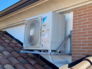condizionatori daikin unità esterna sul tetto