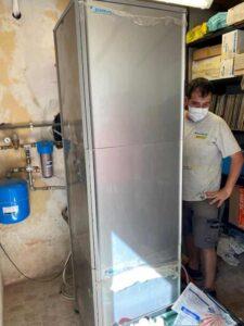 Installazione Pompa di calore Rotex unità interna