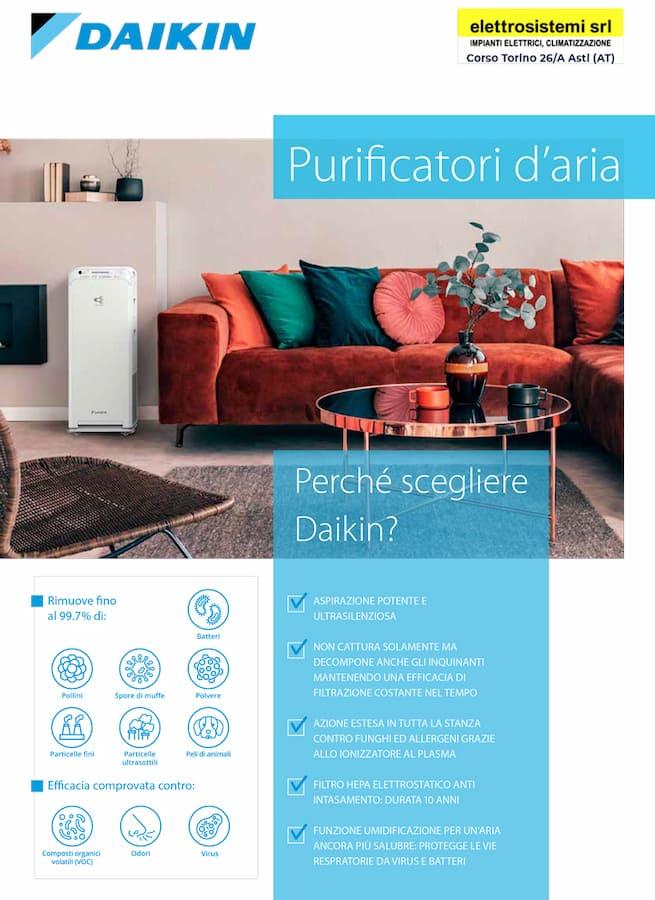 catalogo purificatori aria daikin