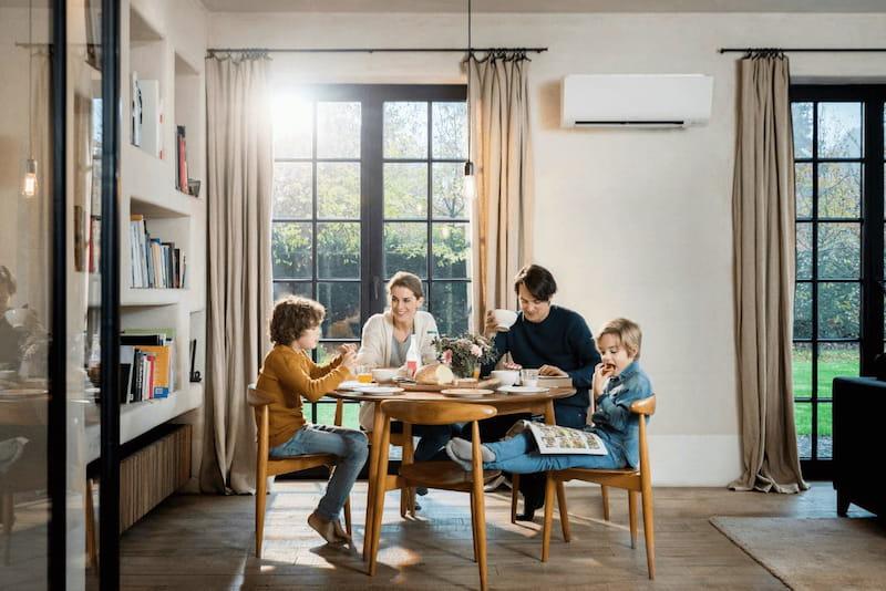 climatizzatore daikin in casa